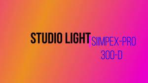 Simpex Pro 300d With Softbox Studio Light Budget Lighting Setup Unboxing Professional Photography Studio Light
