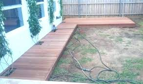 ground level deck footing how to build a ground level deck with deck blocks ground level