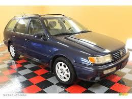 1997 Windsor Blue Metallic Volkswagen Passat GLX Wagon #53364554 ...