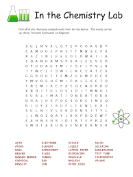 8 Printable Element Word Searches for You | Kitty Baby Love