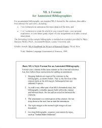 7 Annotated Bibliography Templates Free Word Format Template