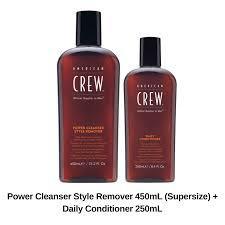<b>American Crew Power Cleanser</b> Shampoo 450mL + Daily ...