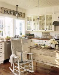 Shabby Chic Country Kitchen Watch More Like Shabby Chic Farmhouse Kitchen
