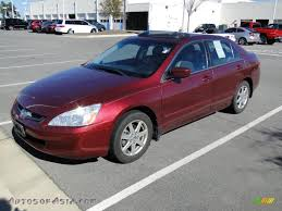 2004 Honda Accord EX V6 Sedan in Redondo Red Pearl - 051018 ...