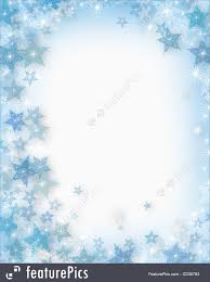 Christmas Snowflakes Pictures Templates Illustrated Background Border Or Frame For Christmas Card Invitation With Snowflakes And Sparkling Lights And Copy Space