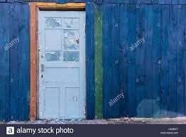 Light Blue Barn Door Barn Lumber House With White Door Stock Photos Barn Lumber