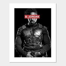 icon michael b jordan posters and art prints