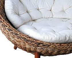 giant papasan chair sofa dorm pink