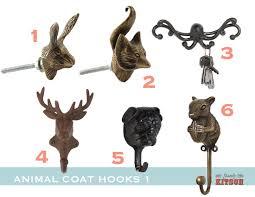 metal animal hooks