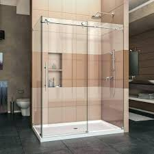 average cost of glass shower doors cost of tempered glass shower door installation replace average cost