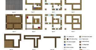 Small Picture Shining Inspiration 12 Minecraft Building Plans Step By Floorplan
