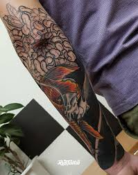 цветы значение татуировок в томске Rustattooru