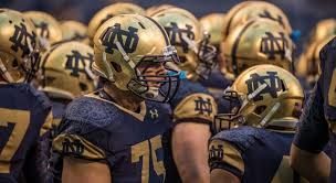 2012 Notre Dame Football Depth Chart A Look Back At Every Notre Dame Shamrock Series Uniform