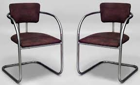 furniture art deco chromed metal chairs art deco chairs