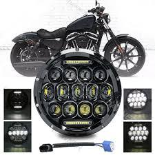 Đèn chiếu led tròn 7 inch cho xe máy areyourshop, đèn pha cho cafe racer  chopper criuser - Sắp xếp theo liên quan sản phẩm