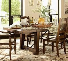 extending rectangular dining table