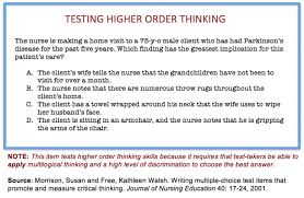 Answer Test Writing Good Multiple Choice Test Questions Center For Teaching