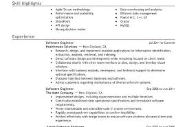Best Resume Software Template Custom Software Resume Examples Best Software Engineer Resume Example