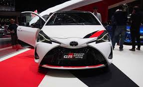 2018 toyota yaris grmn. exellent yaris 2018 toyota yaris and grmn video first look  autoguidecom news to toyota yaris grmn