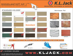 Sika Sealant Coverage Chart Asphalt Products In Denver Co