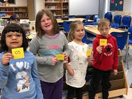 """Ethel Griffith on Twitter: """"Math in the  Learning Commons we read The  Library Gingerbread Man. 1/2B ordered their classmates from least to  greatest, just like we do when we return a"""