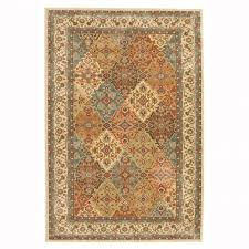 home decorators collection persia almond buff 5 ft x 8 ft indoor classic rg for floor