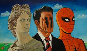 Dissent Art The Red Drewsawyer - Horizon Of