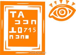 Eye Chart Poster Free Eye Chart Royalty Free Vector Clip Art Illustration