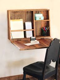 small office desk ideas. drop down secretary desk wall mounted for small spaces office ideas 2
