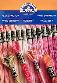Dmc Color Chart 2017 2017 Dmc Color Card Embroidery Floss Pearl Made W Real
