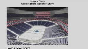 Rogers Seating Chart Edmonton Oilers Fans Given Glimpse Of Seating Options And Prices For