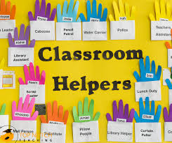 Classroom Jobs Chart What Do You Think About Classroom Jobs Top Notch Teaching