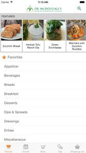 dr mcdougall mobile cookbook on the app
