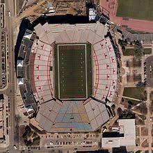 Nebraska Football Field Seating Chart Memorial Stadium Lincoln Wikipedia