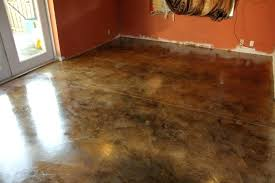 stain cement floor acid concrete cost wash diy staining floors stained the