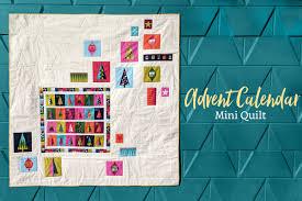 Advent Calendar Mini Quilt Free Pattern | Count down to Christmas ... & Advent Calendar Mini Quilt Free Pattern Adamdwight.com