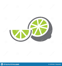 Lime Website Design Lime Icon On White Background For Graphic And Web Design