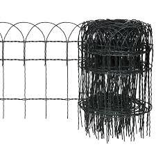 expandable garden lawn edging border fence 10 x 0 4 m