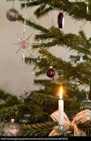 Lizenzfreies Bild 6079273 Christbaumschmuck Mit Kerze Als Weihnachtsmotiv