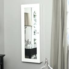 armoire jewelry armoire uk wall mounted mirror mirrored jewelry cabinet wall mount