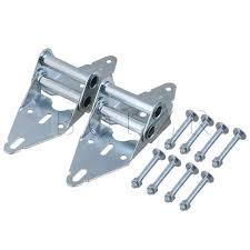 2pcs heavy duty garage door hinges replacement 4 hinge with bolt nut bqlzr