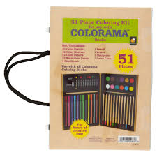 Colorama Coloring Book 51 Piece Coloring Kit As Seen On Tv