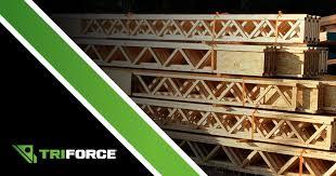 floor truss or triforce open joist