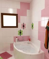 Bilder 3d Interieur Badezimmer Grün Rosa Ral Fete 11