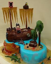 Arrr Pirates Birthday Cake Event Planning Pirate Shark Pirate