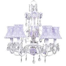 jubilee collection flower garden lavender and white five light mini chandelier with petal flower lavender chandelier shades