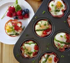 Ham n\u0027 Egg cups | Clean Food Crush