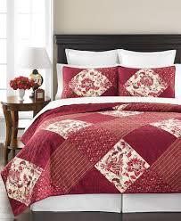 Martha Stewart Bedding Somerset Square Full / Queen Cotton Quilt ... & Picture 1 of 5 ... Adamdwight.com