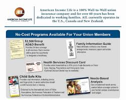 american income life business card elegant group life insurance quotes