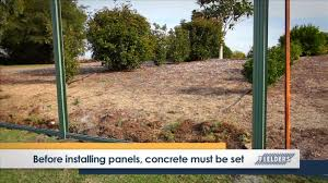 How to build sheet metal fence Iron Fence Youtube Premium Youtube Fielders Diy Installation Guide Srib Corrugated Fencing Youtube